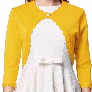3/4 Sleeve Open Front Cardigan
